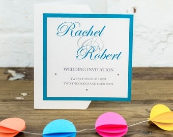 Kensington Pocketfold Wedding Invitation
