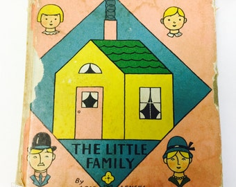 The Little Family book by Lois Lenski. 1932 hardback. Children's book in good condition.  Christmas Chanukah gift. Collectible and rare.