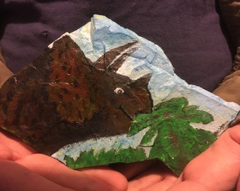Shale Rock Painting