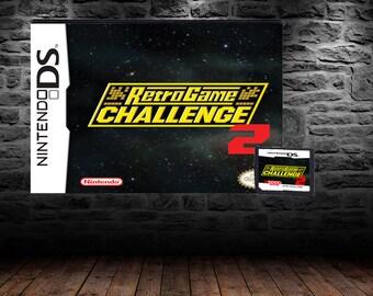 Retro Game Challenge 2 - Appease Game Show Host Demon Arino - DS - English Translation - GameCenter CX: Arino no Chosenjo