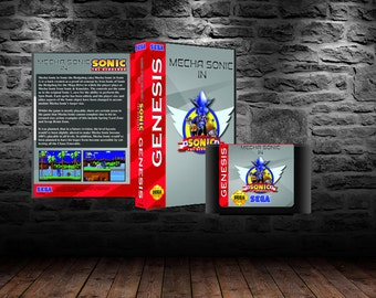 Mecha Sonic in Sonic the Hedgehog - Explore Sonic 1 as Sonic Mechanized - GEN
