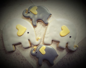 Sweet Elephant Cookies