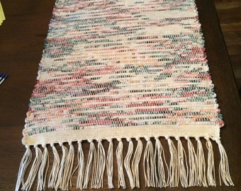 set of four rag placemats