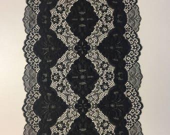 Lace black color