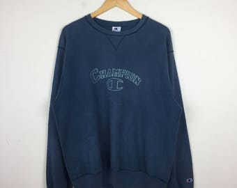 Vintage 1990s CHAMPION Sweater Size XL,  90s Champion, Champion Crewneck, Vintage Champion Sweatshirt