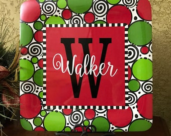 Christmas Personalized Tray