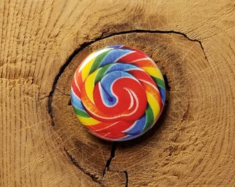 "Lollipop  (1-1/4"" Pinback Button)"