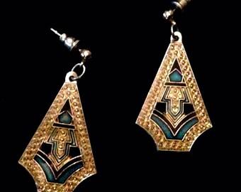 Vintage Art Deco Earrings