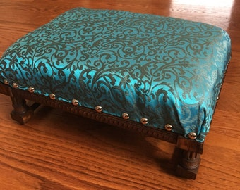 Refinished French Antique Footstool