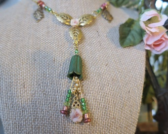 Springtime Floral Necklace