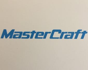 Mastercraft Custom Decal
