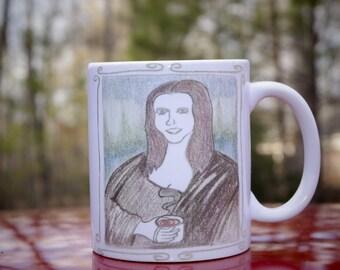 Muga Lisa Coffee Mug