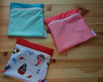 Waterproof pouch / green bag / snack bag / purse in bulk