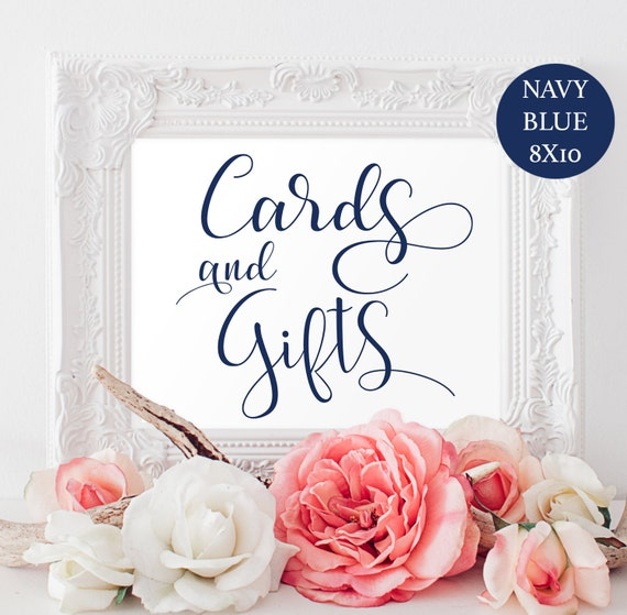 - Gift Table SignWedding SignEditable TextWedding Template ...