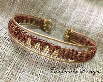wires weaving bracelet