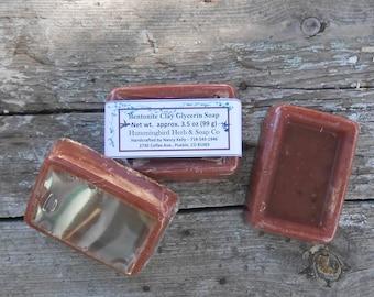 Home Made Soap-Bentonite Clay-Handmade Soap-SLS Free Goat's Milk Pure Glycerin