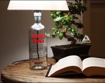 ABSO-Lamp RED _ limited edition vodka Bottle bottle lamp lamp Lamp _ _ _ _