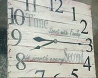 Primitive Wall Clock