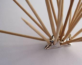 Porcupine Toothpick Holder