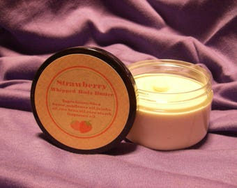 Strawberry Whipped Body Butter
