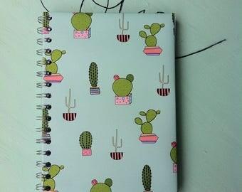 'Cactus' A5 notebook