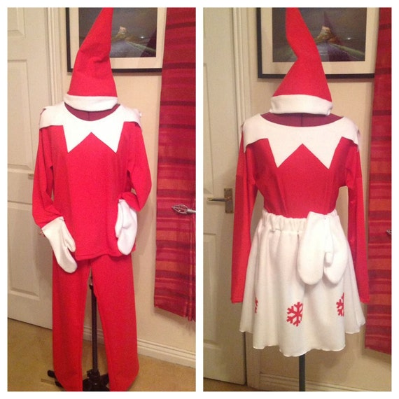Custom Made Adult Naughty Christmas Elf Costume male or