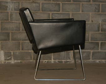 Lounge Chair 60s black