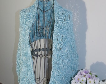Sky Blue Knitted cloth