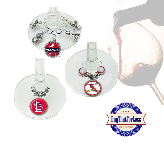 ST LOUIS Wine or Bottle Charms, Napkin Rings, Set of 6, U Choose Style  +FREE SHiPPiNG & Discounts*