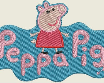 Peppa Pig & Friends Embroidery Designs - 57 Designs - CD/USB - 11 Formats