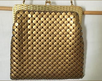 Vintage Whiting and Davis Evening Bag