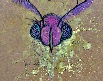 "002 - ""Mothraw"" (Print)"