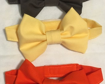 Boys bow ties small 15in large 17in
