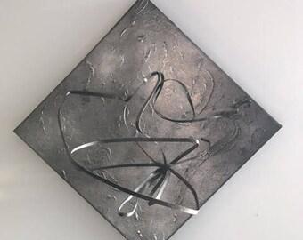 Metal Sculpture Painting