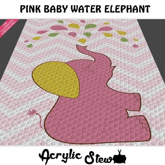Baby Girl Graphgan Pattern Corner To Corner C2c Crochet