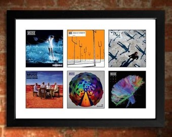 MUSE Albums Limited Edition Unframed Art Print Mini Poster