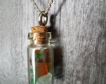 Seaglass Jar