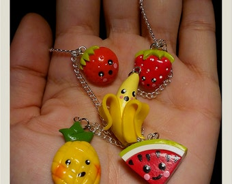 Kawaii Fruits Necklace