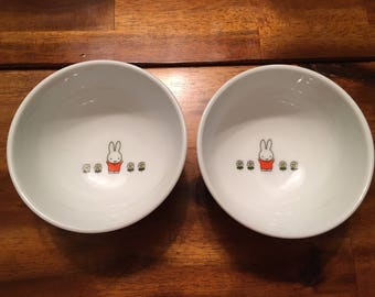 Miffy the Bunny small bowl set