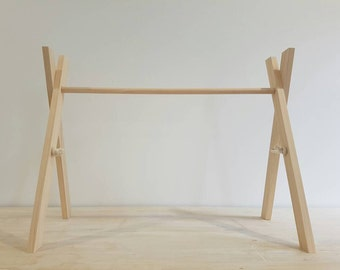 RAW Activity Gym, Baby Gym, Wooden Baby Gym, Wooden Play Gym (Frame only, No Paint)