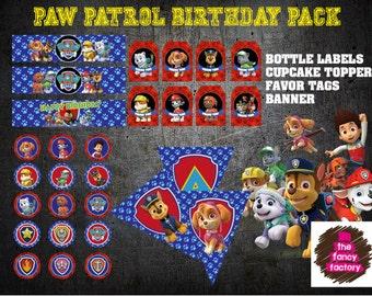 paw patrol birthday pack
