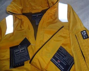New Polo Sport Ralph Lauren fireman style windbreaker jacket size XL