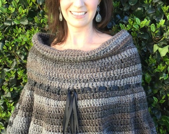 Cowl Black and Grey