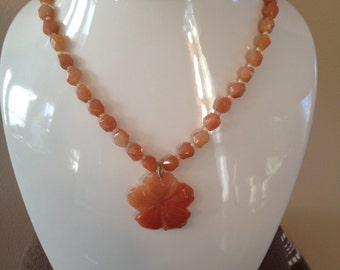Genuine Carnelian Necklace