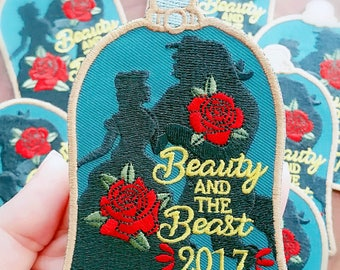 Beauty and the Beast Inspired Fun Patch NEW 2018 version ONLY!