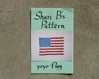 SHARI B'S YOYO Flag Pattern