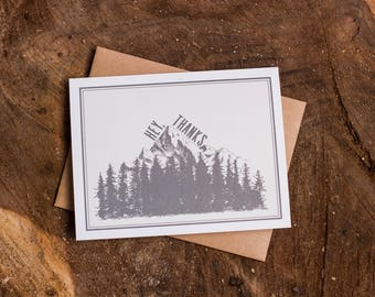 Hey, Thanks - Pacific Northwest Themed Card Set