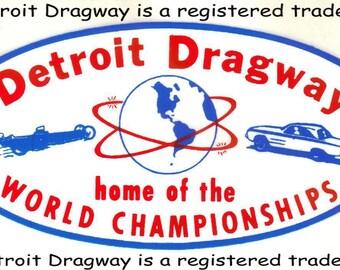 "Detroit Dragway® ""World Championships"" Decal"