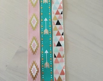 Pacifier Clip Ribbon Patterns