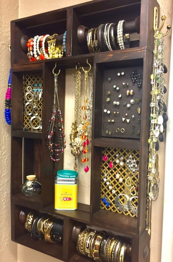 jewelry organizer wall jewelry organizer large jewelry